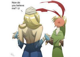 at Zelda s Reaction Zelda Reaction