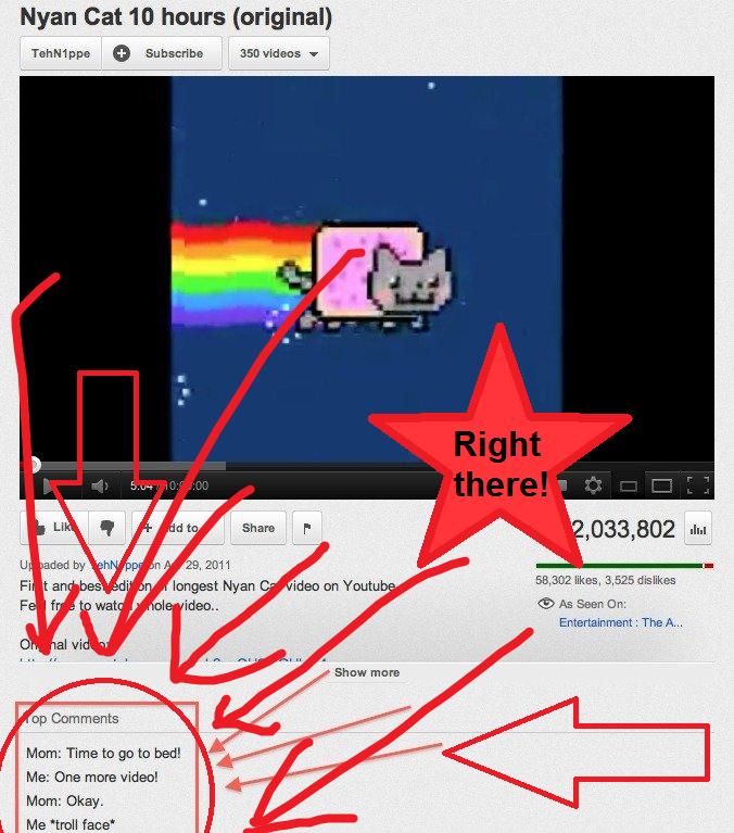 Troll Nyan Cat Gif at Troll Nyan Cat