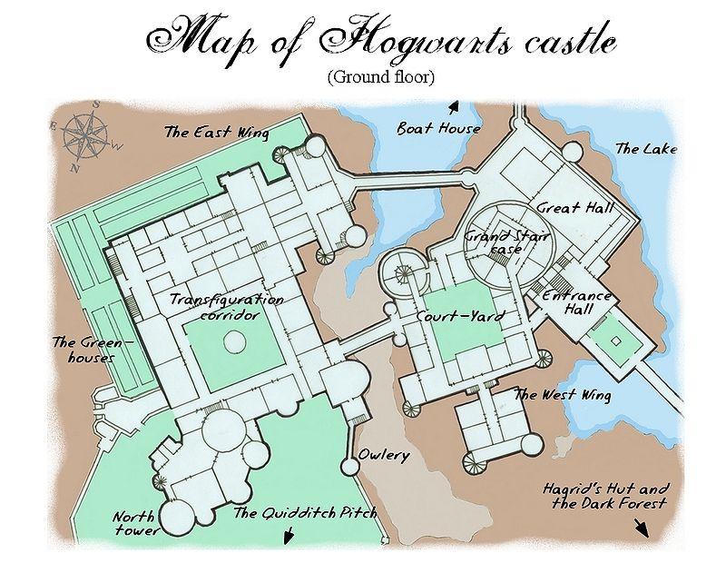 hogwarts castle minecraft blueprint - hogwart's school of witchcraft