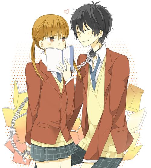 Anime&Manga Couples ~ Shizuku+and+haru+_25ce65a57fba83891c5145e580e87028