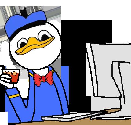 Cartoon duck face meme - photo#14