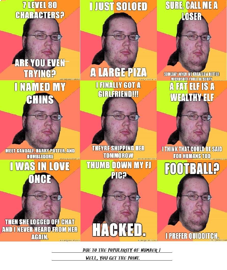 Fat Nerd Meme