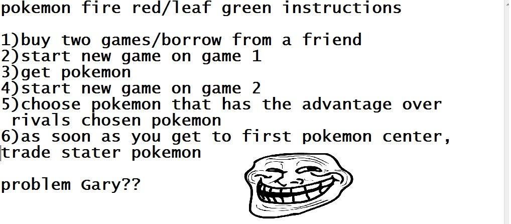 pokemon leaf green how to get mew glitch