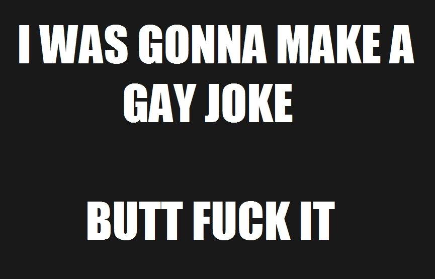 gay sex joke