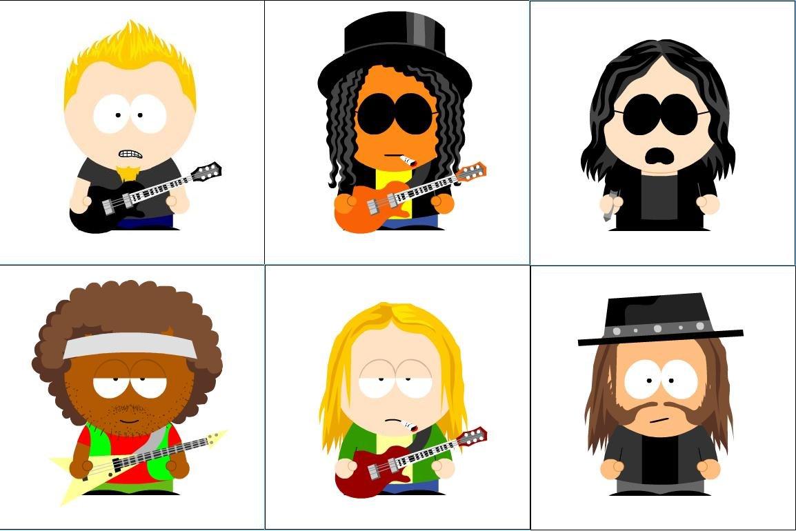 Metallica South Park By Volkerball35 Deviantart – Migliori Pagine da
