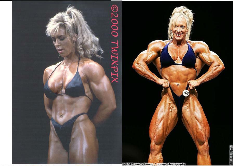 fit girl becomes huge bodybuilder