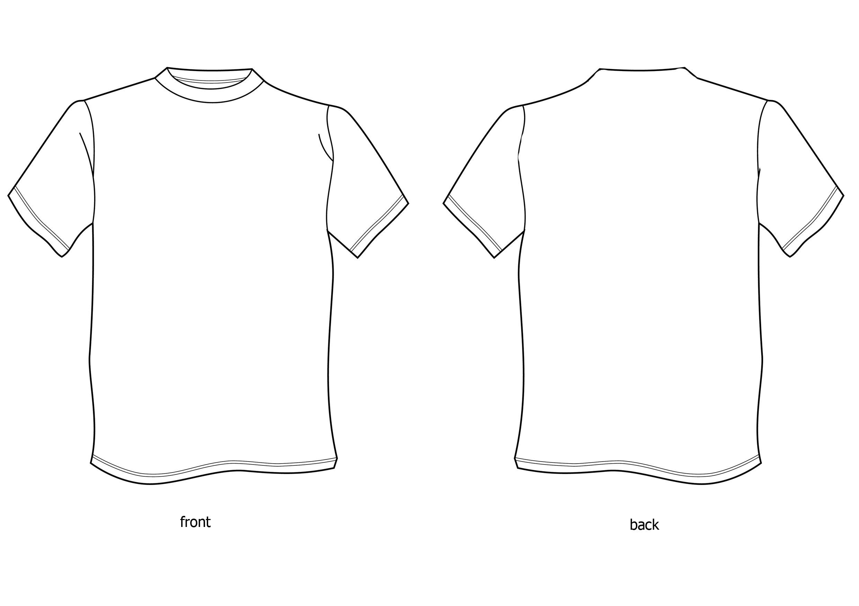 Black t shirt back and front plain - Plain White T S Blank White T Shirt Front And Back