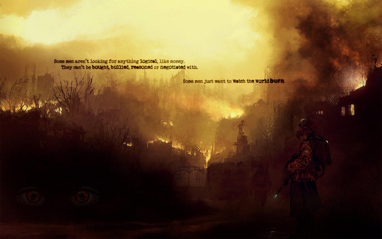 world burn pretty epic