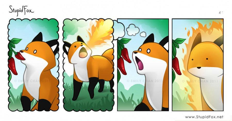I'm a stupid fox 8bf79d_4211474