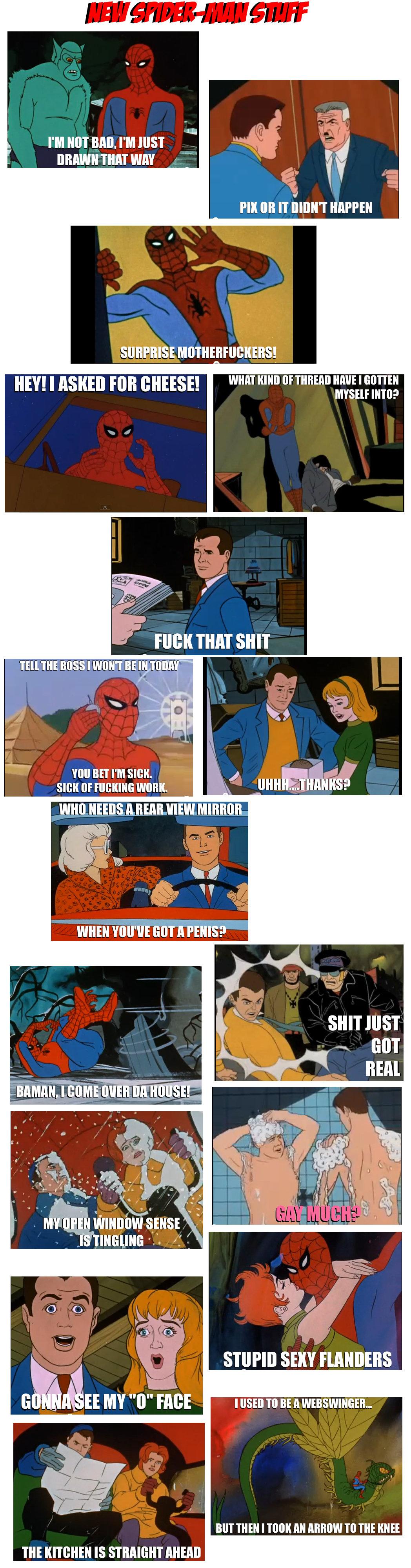 Spiderman Meme Funny Junk : New spider man meme stuff
