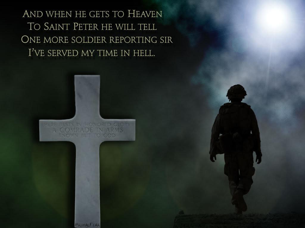 St Peter soldier poem