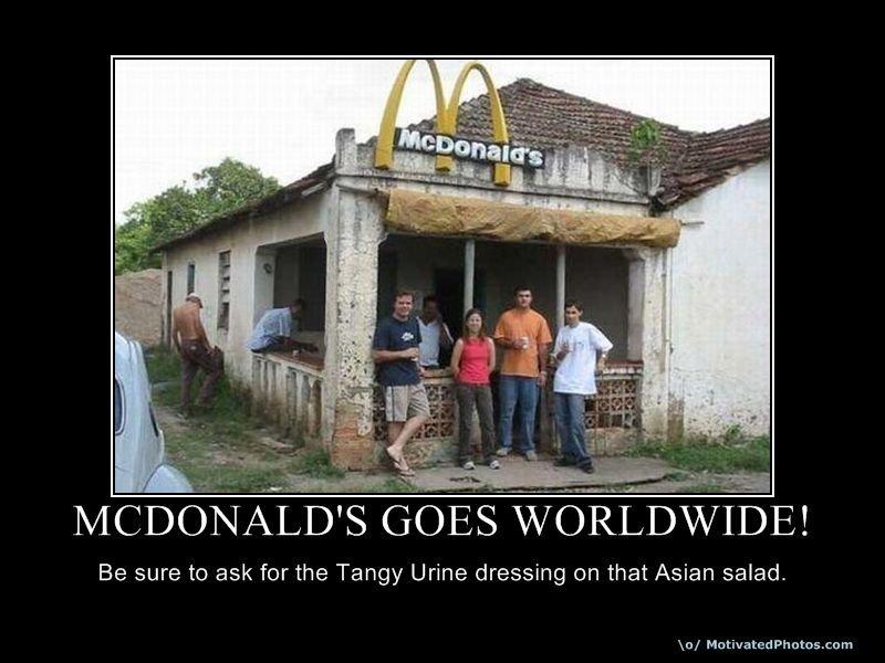 mcdonalds goes worldwide