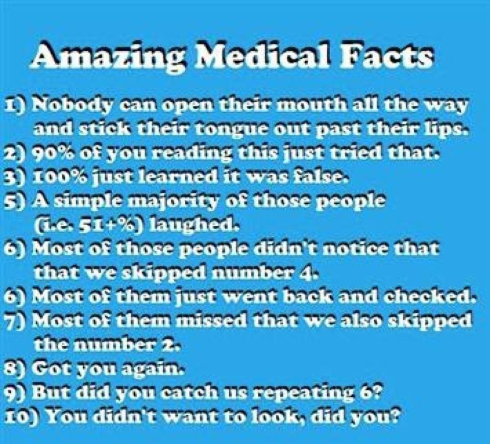Amazing Funny: Amazing Medical Facts