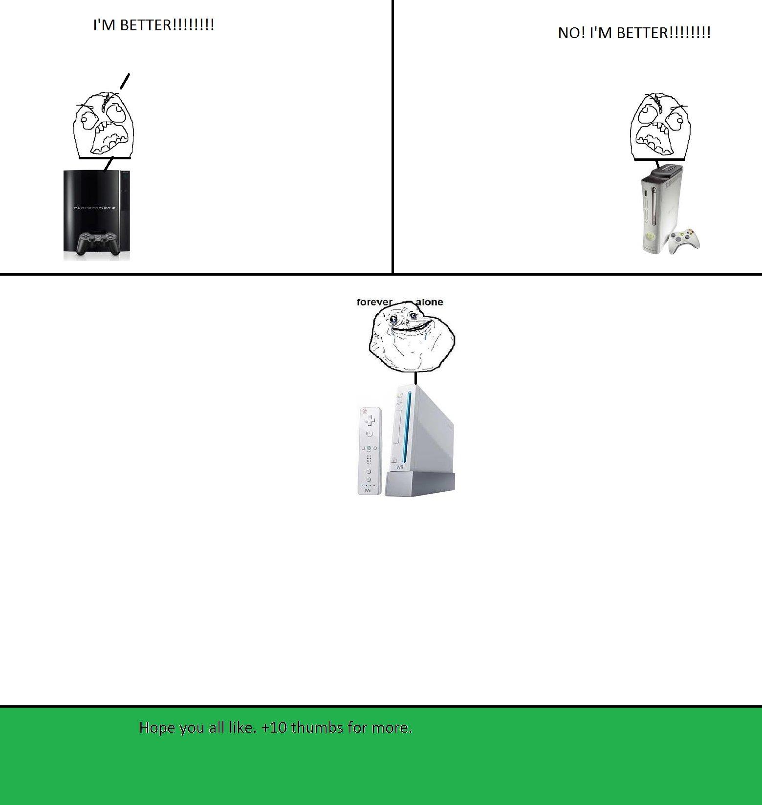 Xbox 360 Vs Ps3 Vs Wii Ps3 vs  xbox 360 vs  wii Xbox 360 Vs Ps3 Vs Wii