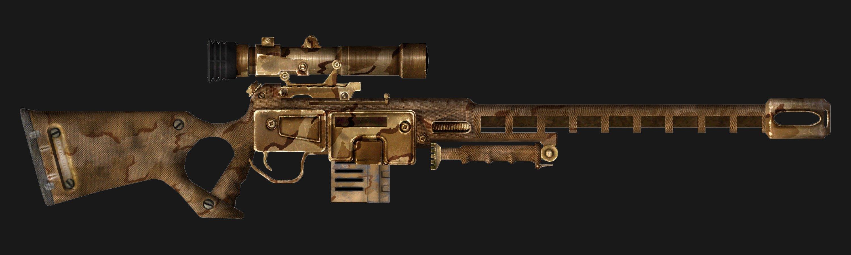 New Vegas Unique Rifles p