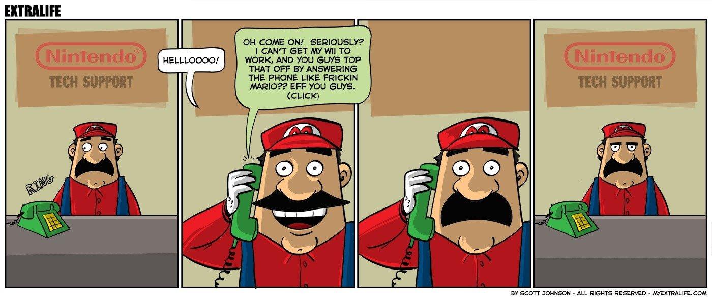 Nintendo Tech Support