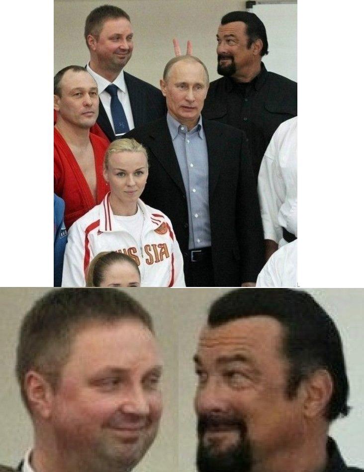 ( °͡ ʖ °͡) (°͡ ʖ °͡ ). .. Two men found dead after photoshoot with President Putin