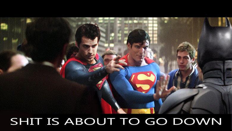 -. Hey, Affleck!!!. ben affleck Superman batman man of steel The Dark Knight henry cavill christian bale