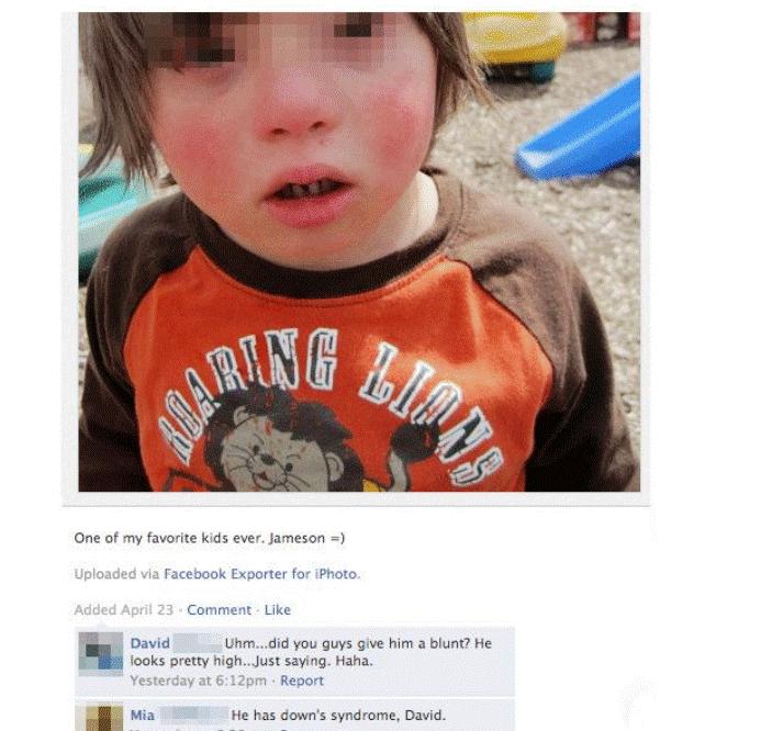 . Poor david.. Ont of ow favorite kids over. Jameson .--r uploaded via racebook Exporter for :Photo. Acids. Mull' 21 ' tent. UR: David Ehrn... did you guys giv down syndrome