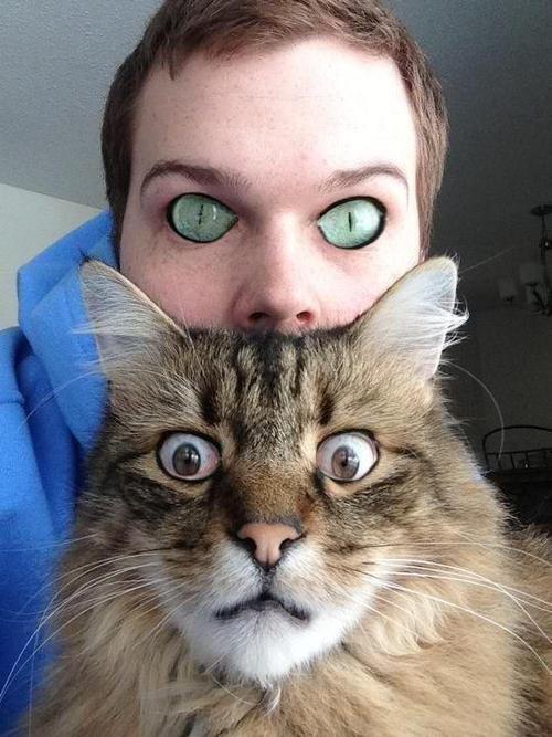 ... that eye swap. not mine.. its behind me isn't it...?
