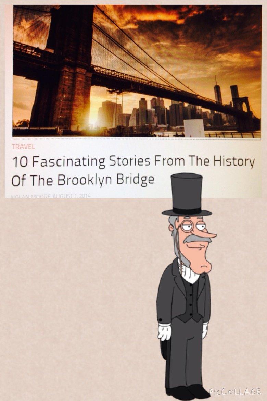 10 whole good stories.. Do you know any good stories about bridges?. Buzz Killinton