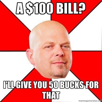 100$?. .