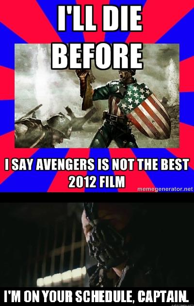 2012 movies. . I' ll DIE I SM IS MT m BEST' 2012 HIM mat. someone forgot The Hobbit?