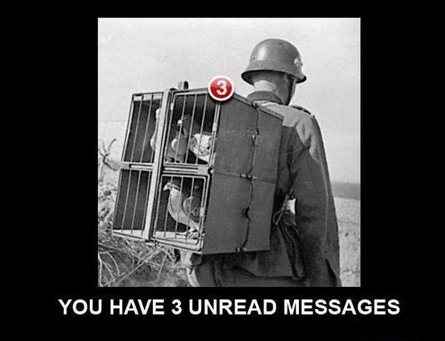 3 unread messages. . YOU HAVE 3 UNREAD MESSAGES