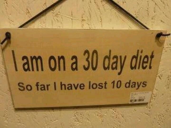 30 days diet......... .