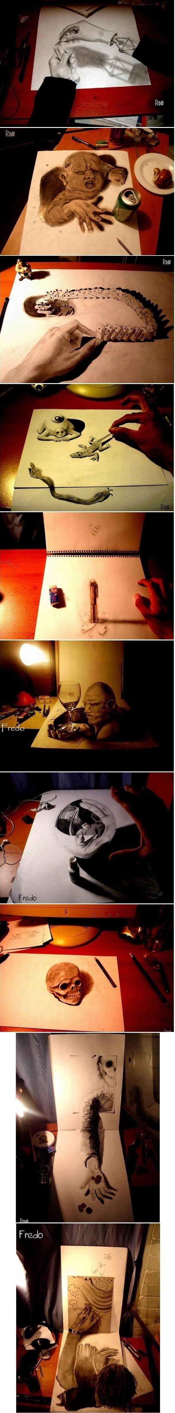 3D Picture Compilation. Men? Men..