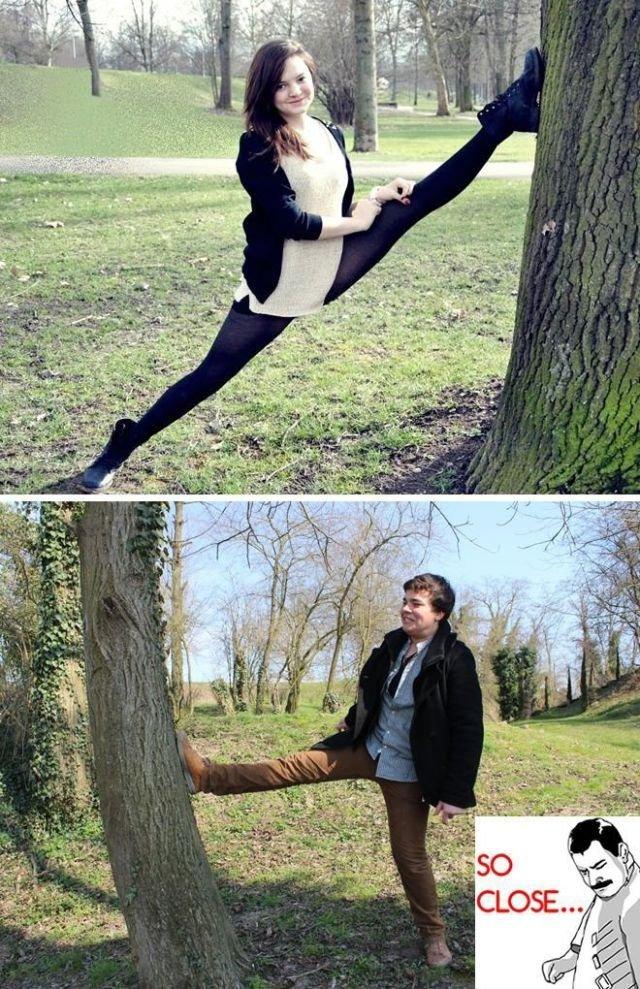 .. .. Flexible girls....