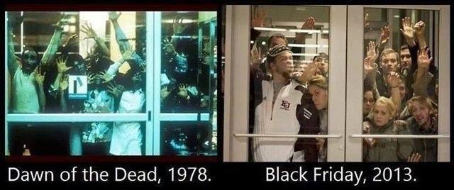 0. . Dawn of the Dead, 1978. Black Friday, 2013.