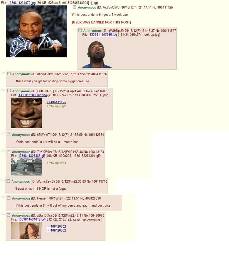 4chan fun. normal people.