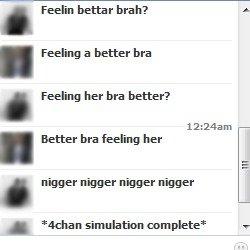 4chan simulation. . dll I' simulating nigger nigger ni