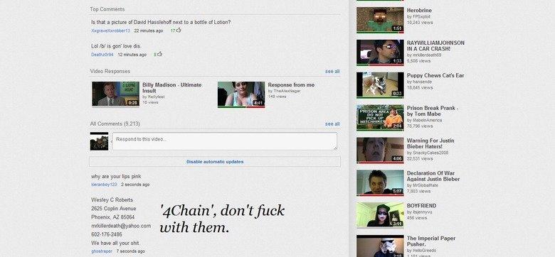 4chan you funny guise. lol no.. 4chain? no