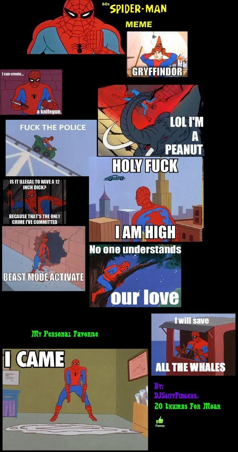 Spiderman Meme Funny Junk : S spider man comp