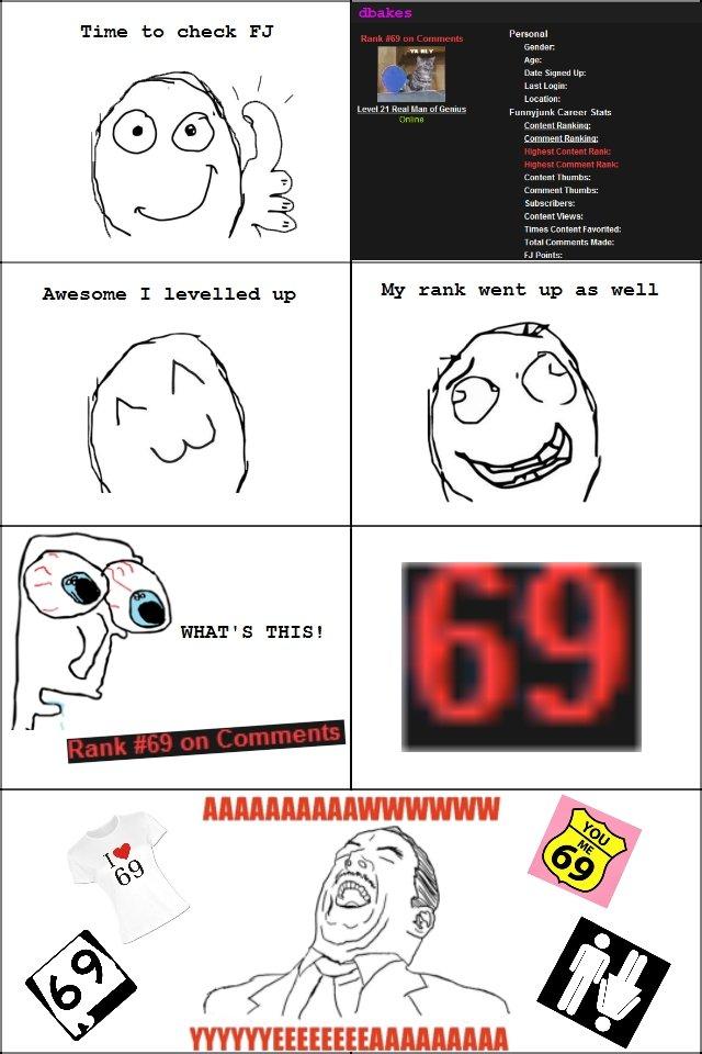 69. . Time to check Ea WHEE' S THIS!. FIRST! rage comic aw yea funnyjunj FJ