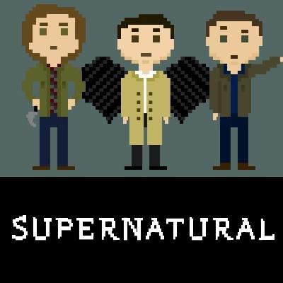 8-Bit Supernatural. From their facebook :3. Scra'