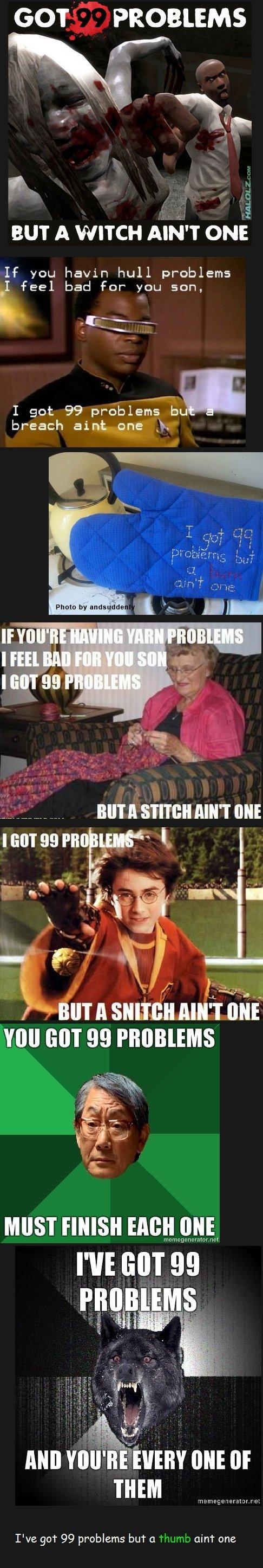 99 Problems Comp. .