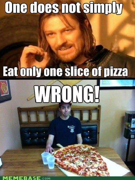 A slice of Pizza. Me like!. Eat onipure slice at nezza MEMEBASE
