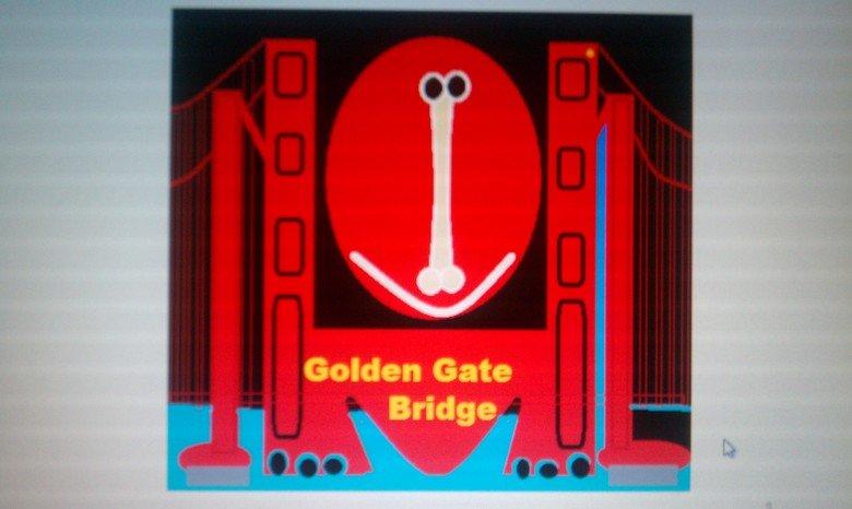 ANDRE HERRIG IS THE KING OF ART. GOLDEN GATE BRIDGE.ANDREHERRING,BAY AREA KING.. ANDRE