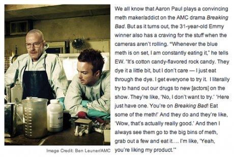 "Aaron Paul. . Milk all kmow Paul plays a math mai: on the AME: drama thusting Baa. Ema: turn: an In Emmy aha has a tbr ma In main is an set. I am ,"" he Ian: EA."