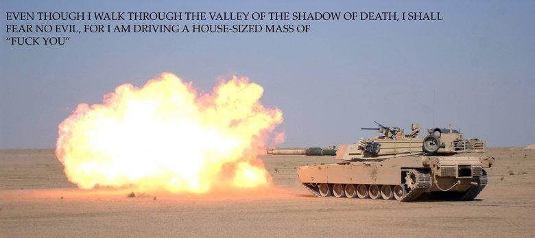 Abrams 23:4. Psalm 23:4.