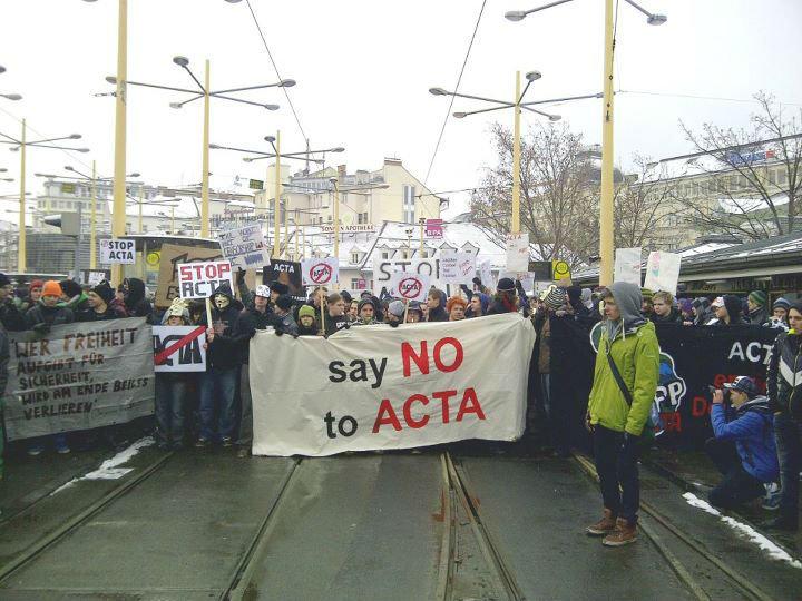 ACTA Demo in Graz /Austria. ACTA Demo in Graz /Austria.. Ich war dort