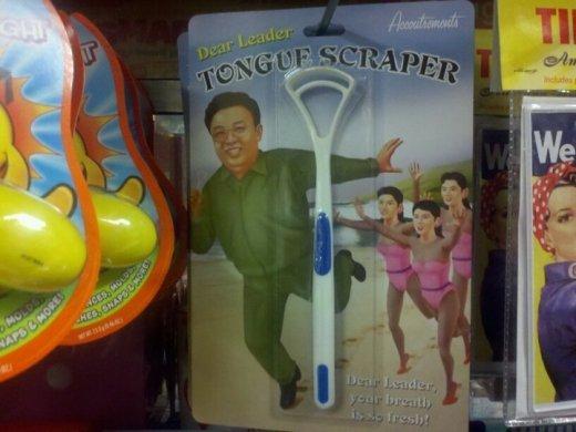 Admin tongue scraper. but why?!.