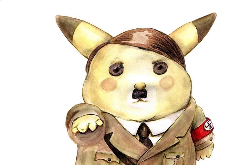 Adolf Pikachu. Adolf Pikachu.. HEIL! adolf hitler PIKACHU