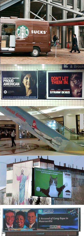 Advertising fail. .. Guess who wants a hug? :D