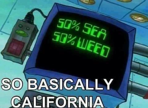 Ah good old Cali. .. .........so basically Washington D.C.