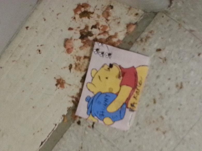 Ahhh, college life. Winnie the poo-hole. Poor pooh bear
