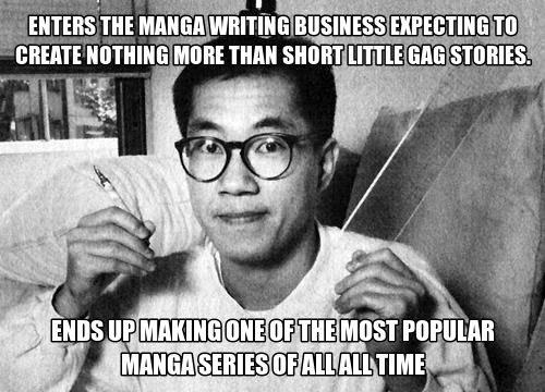 Akira Toriyama, Creator Of Dragon Ball. . Pol. uall. , HST PIP, lollin E, HMS Ill